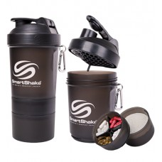 SmartShake Original 600ml Gun Smoke