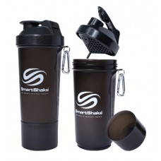 SmartShake Slim 500ml Gun Smoke