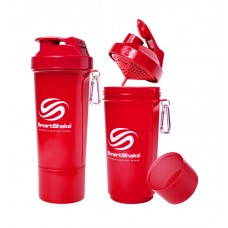 SmartShake Slim 500ml Neon Red