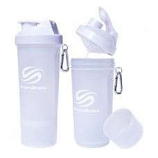 SmartShake Slim 500ml Pure White