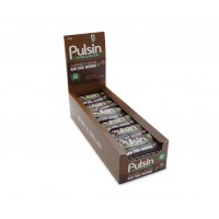 Almonds & Raisin Raw Choco Brownie 18x50g Pulsin