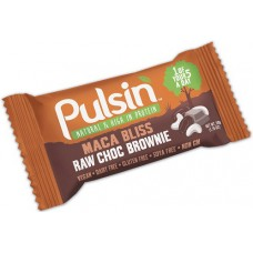 Maca Bliss Raw Choc Brownie Bar 50g Pulsin