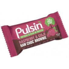 Raspberry & Goji Raw Choco Brownie 50g Pulsin
