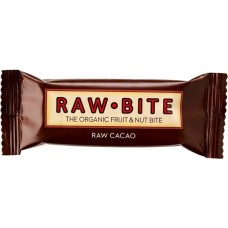 Fruit & nut bite cacao raw.bite 12 X 50 gram