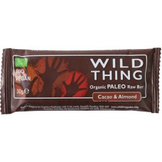 Paleo raw bar cacao & amandel Wild Thing 20 X 30 gram