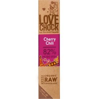 RAW chocolade kers en chilli