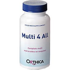 Multi 4 All Orthica 60 tabletten