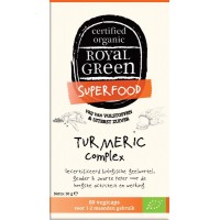 Turmeric complex 60 st royal Green