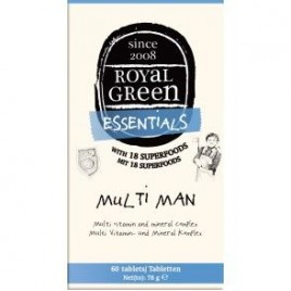 Multi-Men 60 Tabs Royal Green