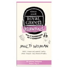 Multi-Women 60 Tabs Royal Green