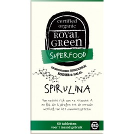 Spirulina 60 st Royal Green
