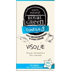 Visolie 30 Softgels Royal Green