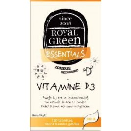 Vitamine D3 120 Tabs Royal Green
