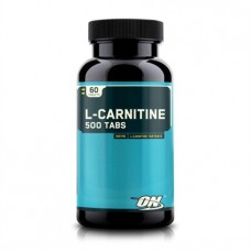 L-Carnitine 500mg 60 Tabs Optimum Nutrition