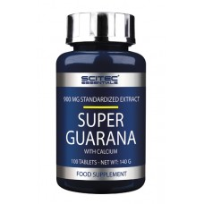Super Guarana 100 Tabs Scitec Nutrition