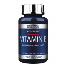 Vitamin E 100 Caps Scitec Nutrition