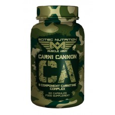 Carni Cannon 60 Caps Muscle Army Scitec