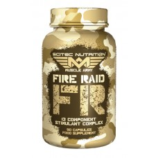 Fire Raid 90 Caps Muscle Army Scitec