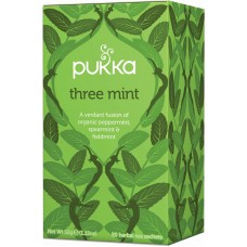 Three Mint Indulgent Flavor 20x2g Pukka Thee