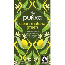 Clean Matcha Green Thee 20X1.05g Pukka Thee