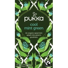 Cool Mint Green 20X1,05g Pukka Thee