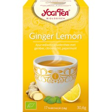Ginger Lemon 17x1,8g Yogi Tea