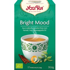 Bright Mood 17x1,8g Yogi Tea doos 6 x 17 zakjes
