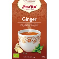 Ginger 17x1,8g Yogi Tea