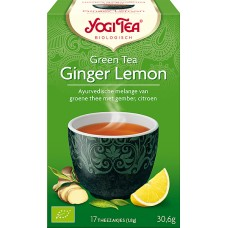 Green Tea Ginger Lemon 17x1,8g Yogi Tea