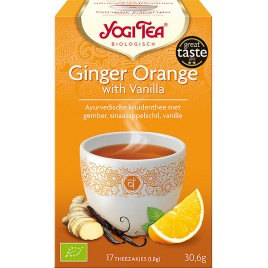 Ginger Orange 17x1,8g Yogi Tea doos 6 x 17 zakjes