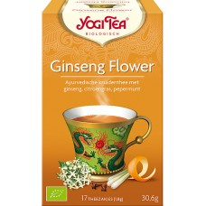 Ginseng Flower 17x1,8g Yogi Tea