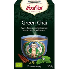 Green Chai 17x1,8g Yogi Tea