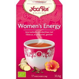 Woman's Energy 17x1,8g Yogi Tea doos 6 x 17 zakjes