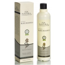 Organic Anti Gray Black Shampoo 400ml Iva Natura