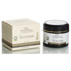 Organic Black Face Mask 250ml Iva Natura