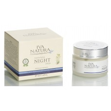 Organic Moisturizing Night Cream 50ml Iva Natura